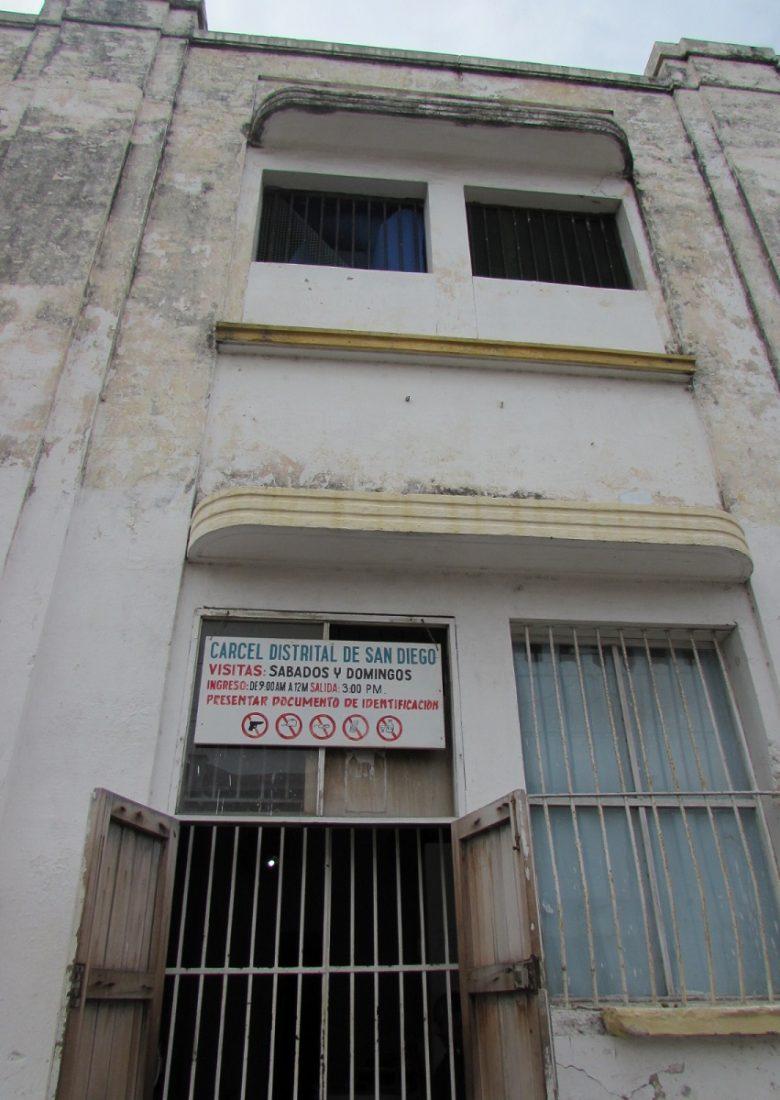Fachada de la Cárcel de mujeres de San Diego, Cartagena de Indias