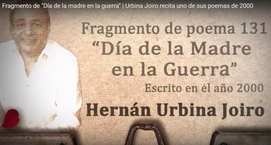 Urbina Joiro recita fragmento de