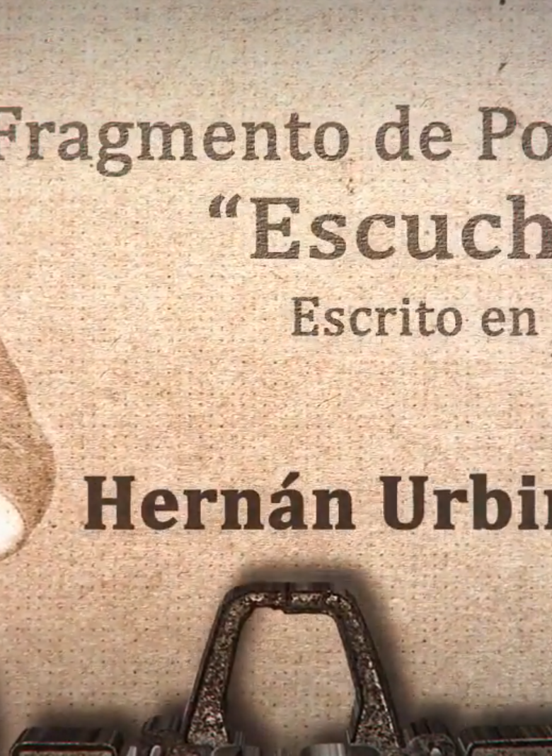 Hernán Urbina Joiro poeta