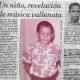 Hernán Urbina Joiro poeta desde los 9 años