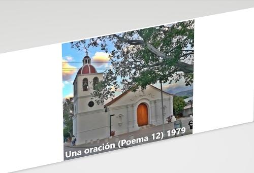 Una Oración (fragmento) | 1979 | Hernán Urbina Joiro poeta