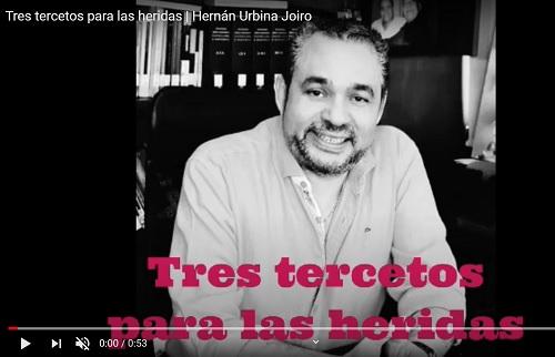 Hernán Urbina Joiro Poesía3 tercetos para las heridas