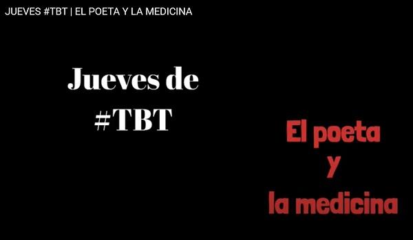 El poeta y la medicina Hernán Urbina Joiro JUEVES #TBT
