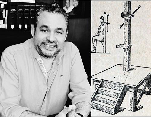 Hernán Urbina Joiro Poema 24 Garrote vil