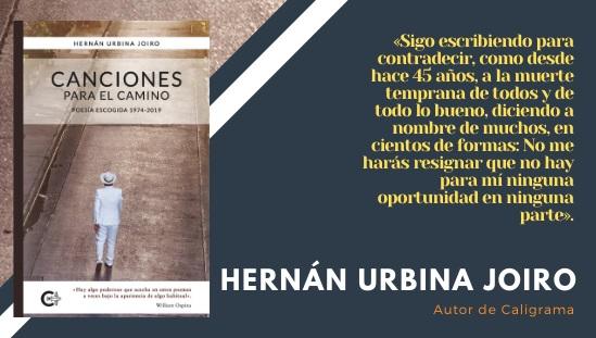 Entrevista Hernán Urbina Joiro Peguin Random House Poesía 20