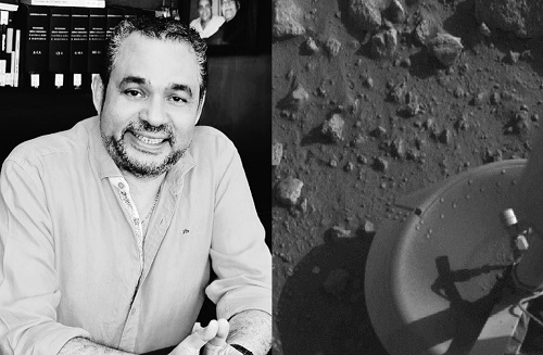 Hernán Urbina Joiro Poema 4 El Viking en Marte (1976)