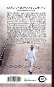 Poema 85 Centro 93 Canciones para el camino Urbina Joiro