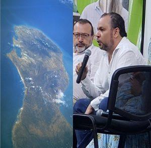 Urbina Joiro en la Academia de Historia de La Guajira 2020