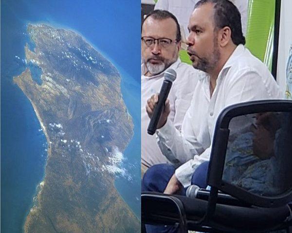 Urbina Joiro en la Academia de Historia de La Guajira 2021