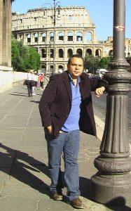 Urbina Joiro Poema164 Despertar en Roma
