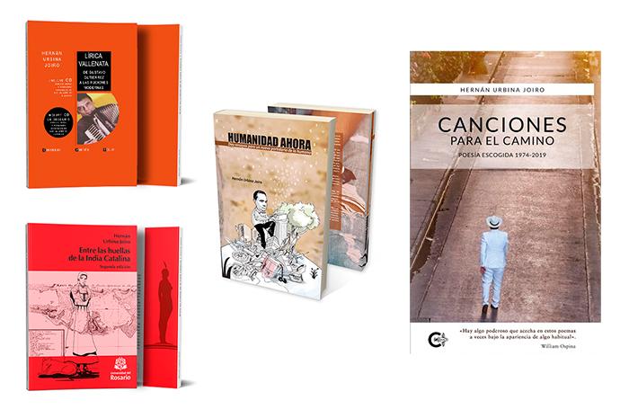Qué libros ha escrito Hernán Urbina Joiro 1965